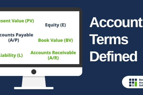 Accounting Terms Defined
