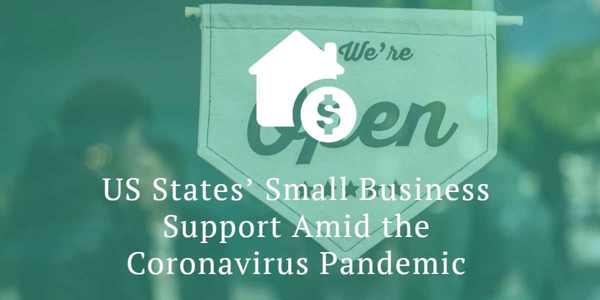 US States' Small Business Support Amid the Coronavirus Pandemic