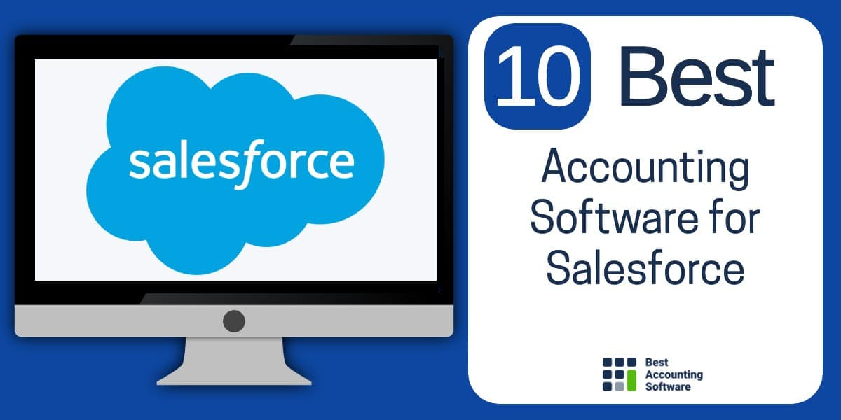 10 Best accounting software for Salesforce businesses
